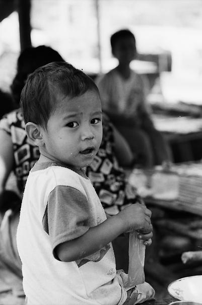 Worried Boy @ Myanmar