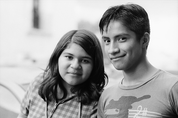 Young couple in Puebla
