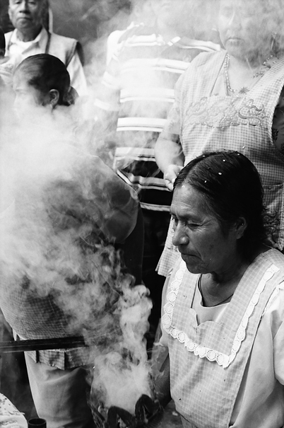 Smoke And Woman (Mexico)