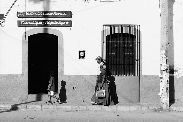 Family In The Street (Mexico)
