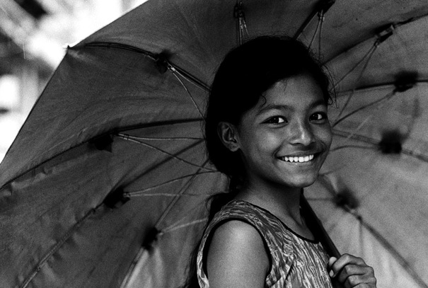 Umbrella And Smile (Nepal)