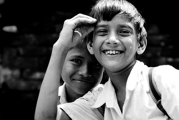 Cheerful School Boys @ Bangladesh