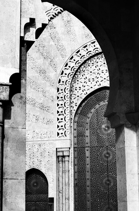 Geometry Of A Mosque (Morocco)