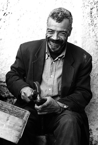 Smile Of A Shoemaker (Morocco)