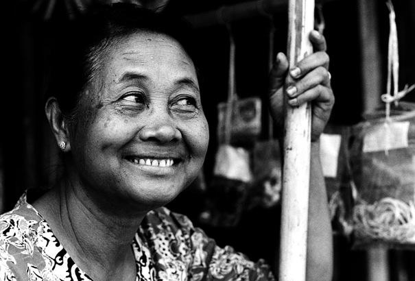 Smirking Woman (Myanmar)