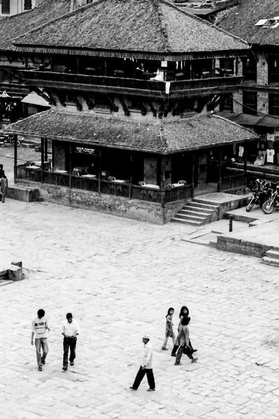 バクタプルにあるトウマディー広場