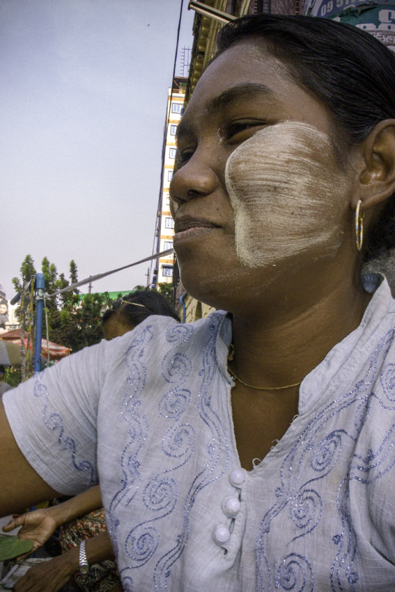 Female street vendor
