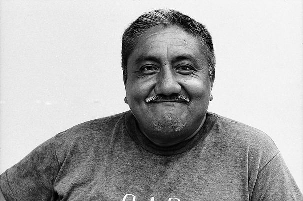 Happy Face Of A Bearded Man (Mexico)