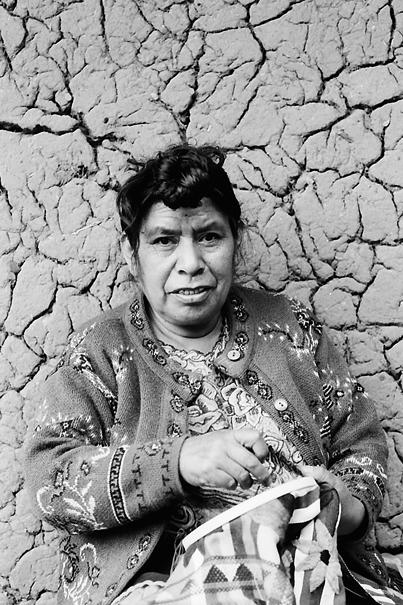 Stitching Woman (Mexico)