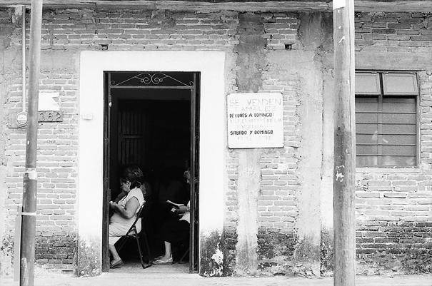 Religious Service Inside Door @ Mexico
