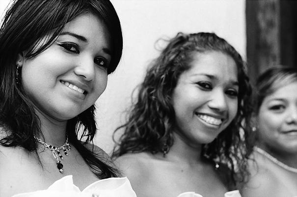 Ladies At The Wedding Ceremony @ Mexico
