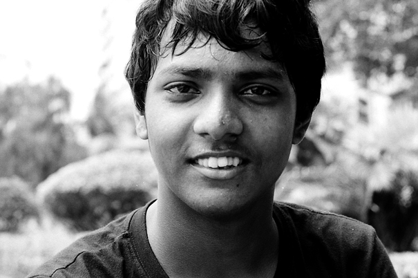Face Of A Youngster (India)