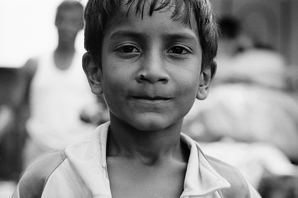 Tight-mouthed Boy (India)