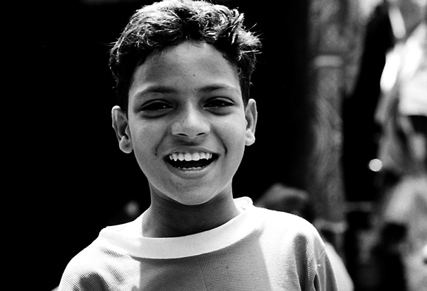 Boy Smiled Delightfully (India)