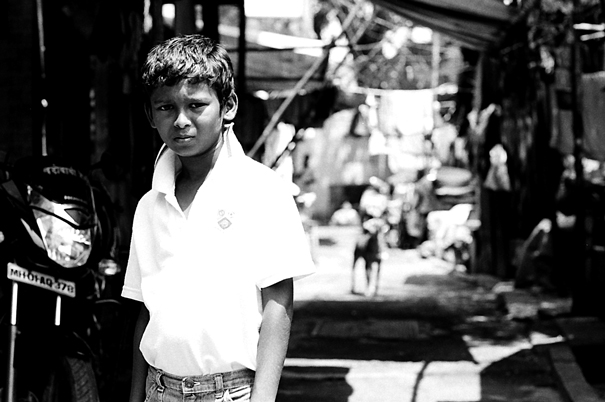 A Rough Look In The Lane @ India