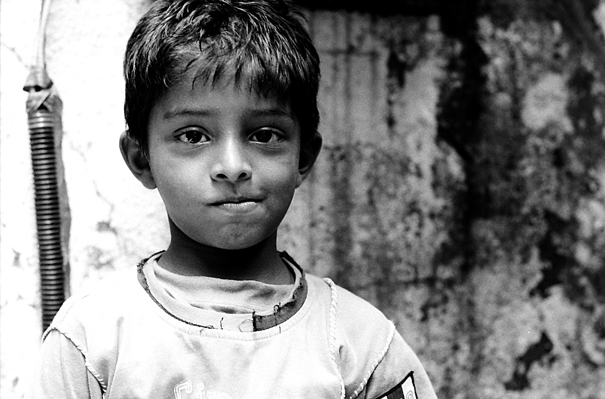 His Lips Were Pursed In A Frown (India)