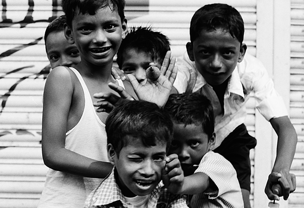 One boy showed me his spinning top