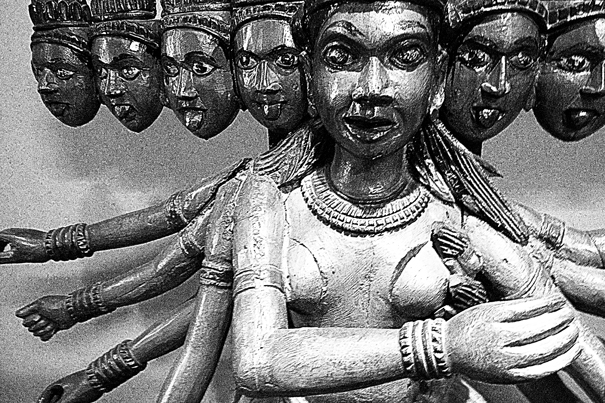 Statue With Many Faces (India)