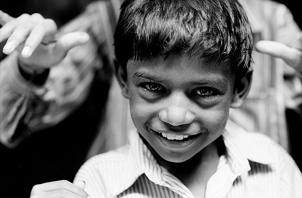 Curious Eyes Of A Boy @ India