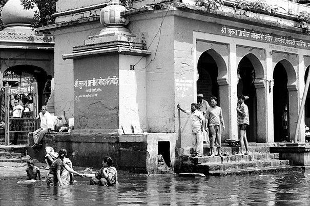 Bathing Tank In Nasik @ India