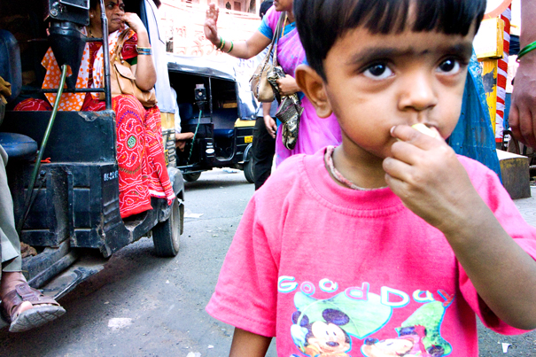 Boy Wearing A Pink Shirt (India)