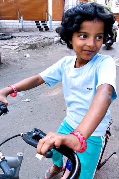 Girl On The Bike @ India