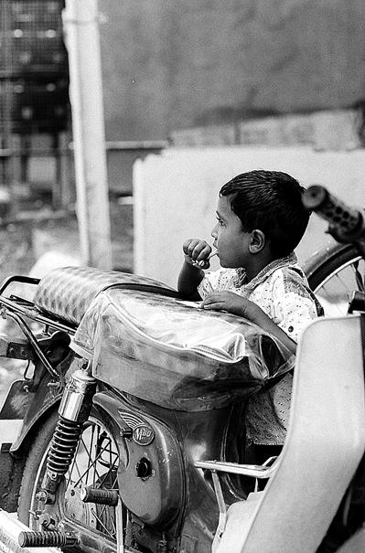 Thinking Boy @ India