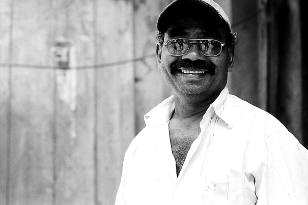 Mustache, Glasses And Smile @ India