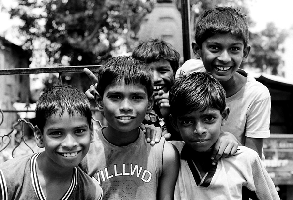 Children In A Playing Ground @ India