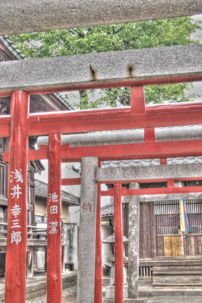Torii in Yuten-Ji