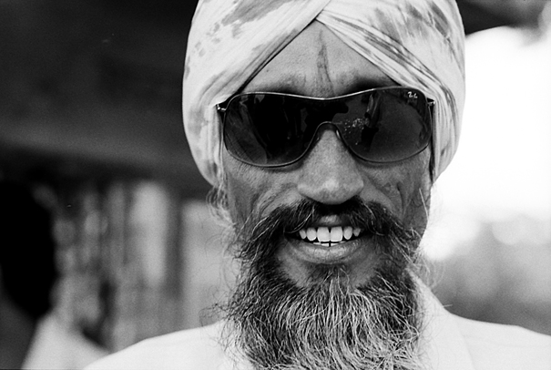 Sunglasses And Beard (India)