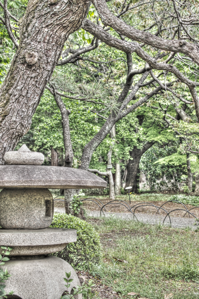 Stone Lantern @ Tokyo
