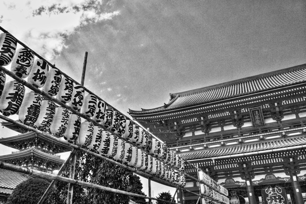 Lanterns And Gate In Senso-ji @ Tokyo