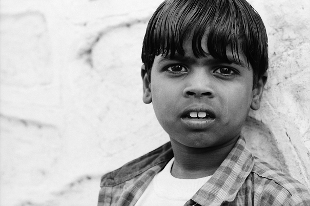 Boy With Prominent Teeth @ India