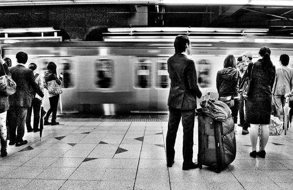 Man With A Big Bag (Tokyo)
