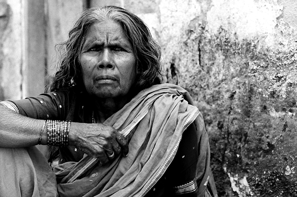Portrait Of An Older Woman (India)
