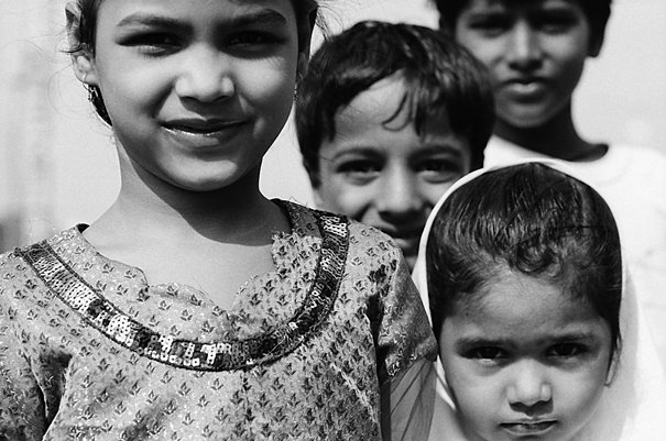Eyes of kids