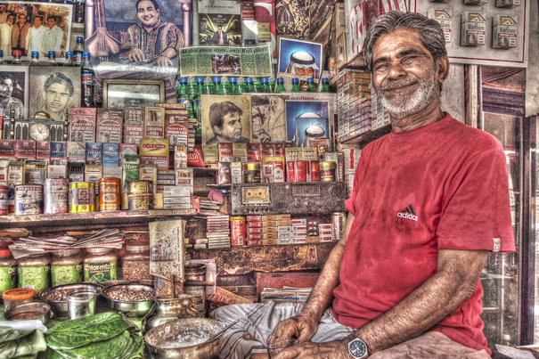 Man In The Cigarette Shop @ India
