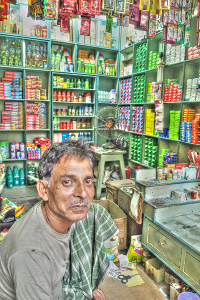 Man In The General Store @ India