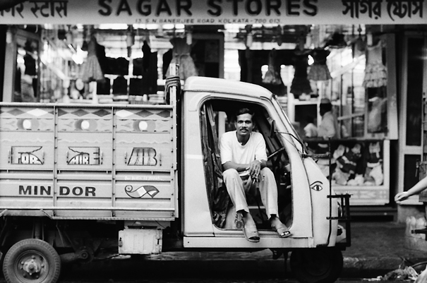 Man On The Truck @ India