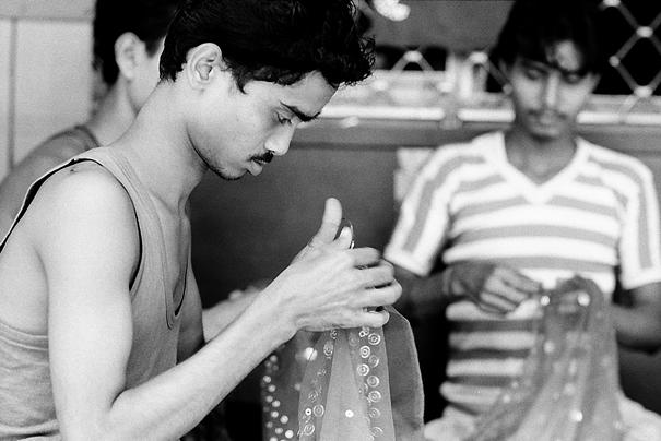 Men Doing Needlework @ India