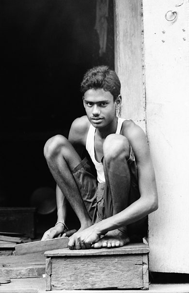 Young Man And File (India)