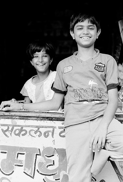 A Boy And A Girl At The Counter (India)