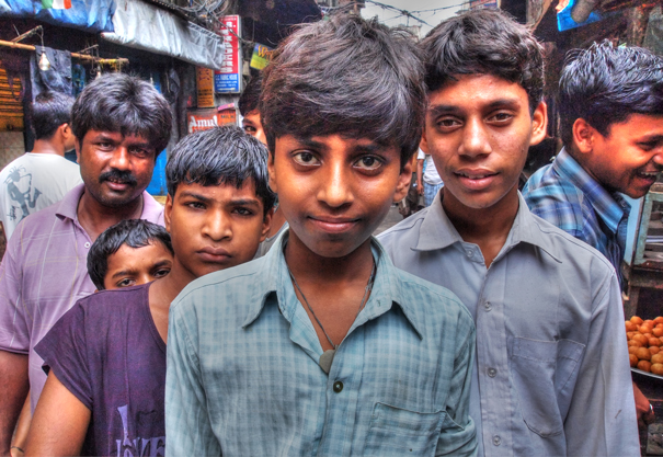 Young Men Standing Up Against Me (India)