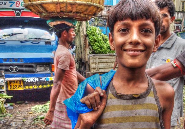 Boy Smiles @ India