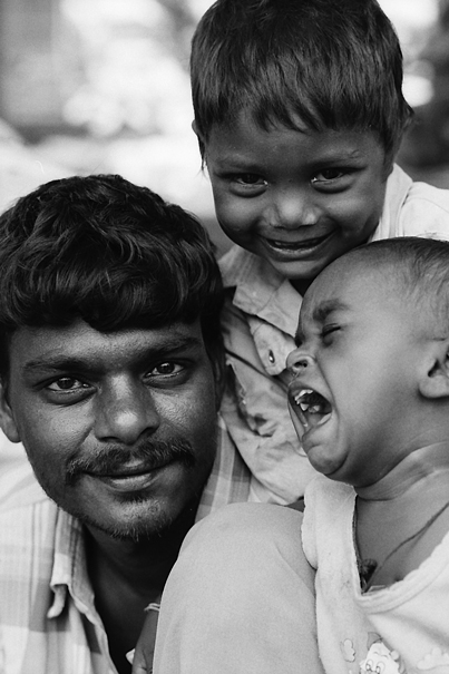 Three Faces Of A Parent And Children (India)