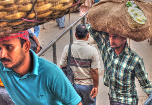 Carrying Men (India)