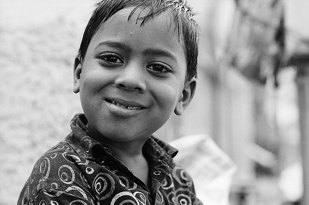 Boy With Big Eyes And A Great Smile (India)