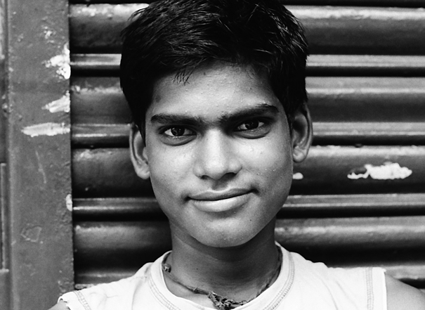 Man developing self-assured attitude
