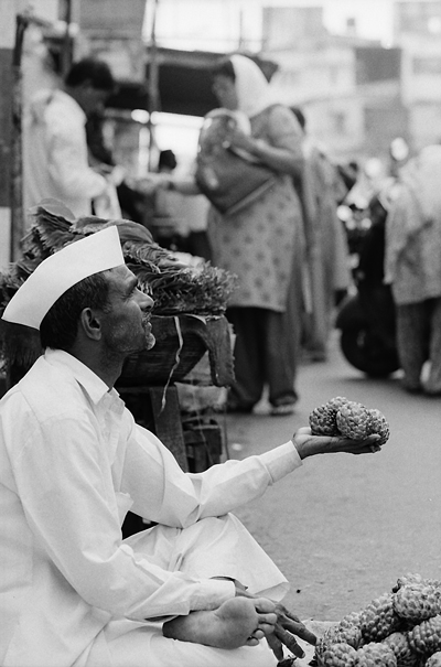 Artichokes In His Hand (India)